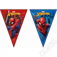Party girlanda vlajky Spiderman Power