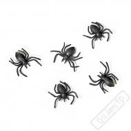 Dekorační pavoučci černí