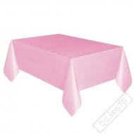 Plastový party ubrus růžový