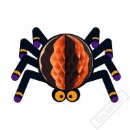 Papírová prostorová dekorace Pavouk