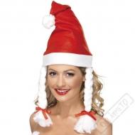 Čepice Santa s copánky