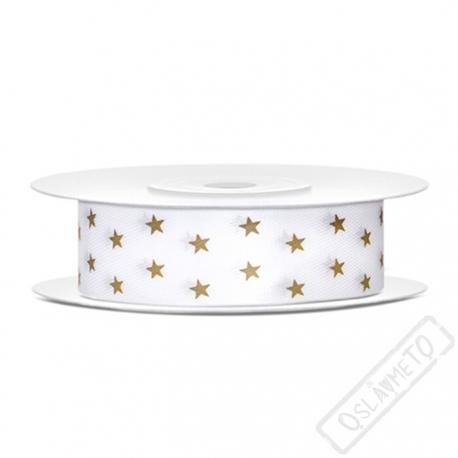 Dekorační stuha s potiskem Stars