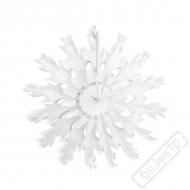Závěsná rozeta sněhová vločka 37cm