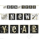 Banner silvestrovský Happy New Year