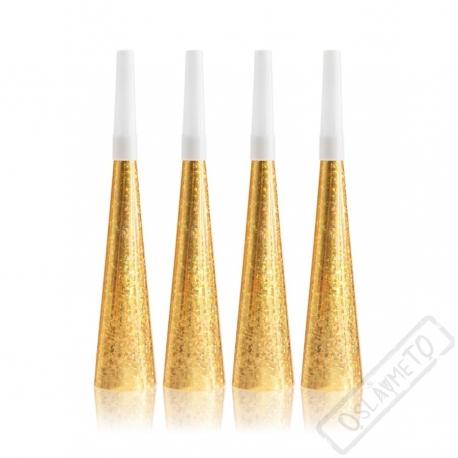 Party trumpety zlaté