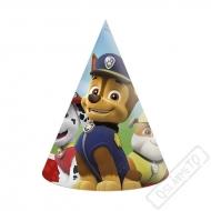 Papírové party kloboučky Tlapková Patrola