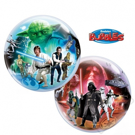 Nafukovací balón bublina Star Wars 56cm