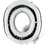Nafukovací balón stříbrný písmeno Q 101cm