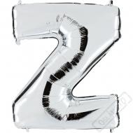 Nafukovací balón stříbrný písmeno Z 101cm