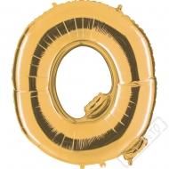 Nafukovací balón zlatý písmeno Q 101cm