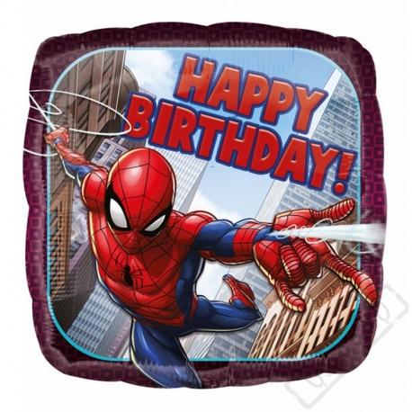 Narozeninový balónek fóliový Spiderman