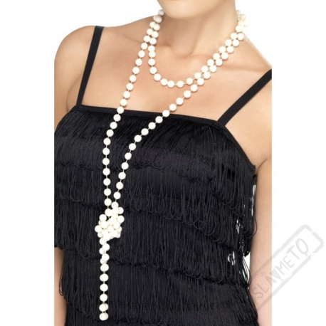Náhrdelník perlový Champagne