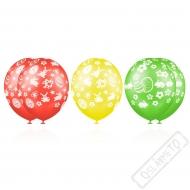 Latexové balónky s potiskem Velikonoce