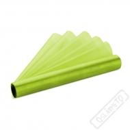 Dekorační organza zelená šíře 36cm