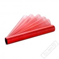 Dekorační organza červená šíře 36cm