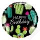 Nafukovací balónek fóliový Cactus 45cm
