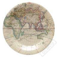 Papírové party talíře Cesta kolem světa