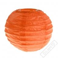 Dekorační papírový lampion XS oranžový