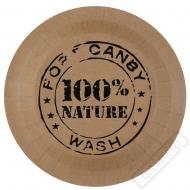 Papírové party talíře ECO přírodní