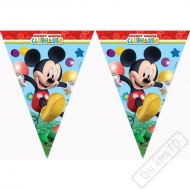 Party girlanda vlajky Mickey Mouse