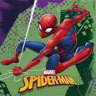 Papírové party ubrousky Spiderman