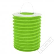 Závěsný lampion válec zelený