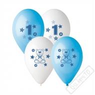 Latexové balónky s potiskem 1. rok chlapeček