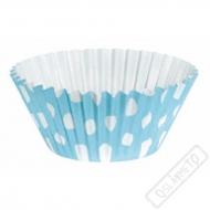 Košíčky na muffiny s puntíky modré