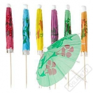 Party deštníčky do koktejlů a pohárů