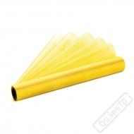 Dekorační organza žlutá šíře 36cm