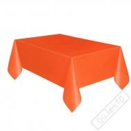 Plastový party ubrus oranžový