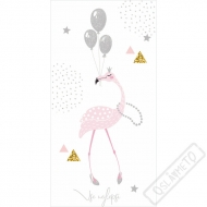 Blahopřání DeLuxe Flamingo