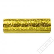 Dekorační papírové serpentýny zlaté