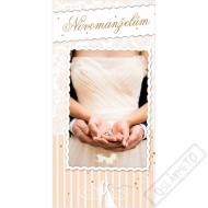 Svatební blahopřání s kapsou na peníze Decor
