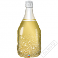 Nafukovací balón fóliový Šampus Sparkle Gold 99cm
