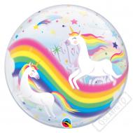 Nafukovací balón bublina Jednorožec 56cm