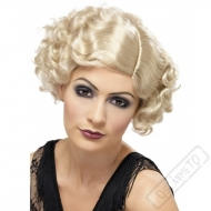 Paruka Flapper 20. léta blond