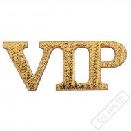 Glitrové konfety na stůl VIP zlaté