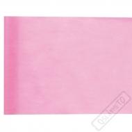 Stolová šerpa z netkané textilie Rosé