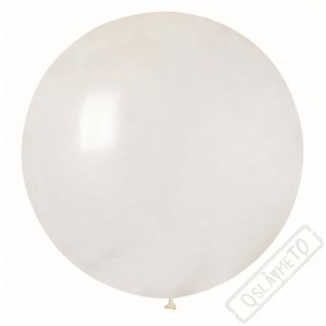 Nafukovací Jumbo balón transparentní 85cm