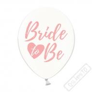 Latexový balónek s potiskem Bride to Be