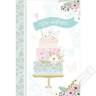 Blahopřání k narozeninám Dort v rozkvětu