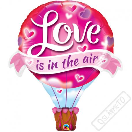 Nafukovací balón Láska je ve vzduchu 107cm