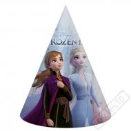 Papírové party kloboučky Frozen - Ledové království