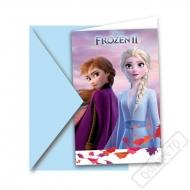 Pozvánky na oslavu Frozen - Ledové království