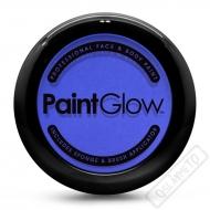 Obličejová barva s houbičkou a štětcem modrá