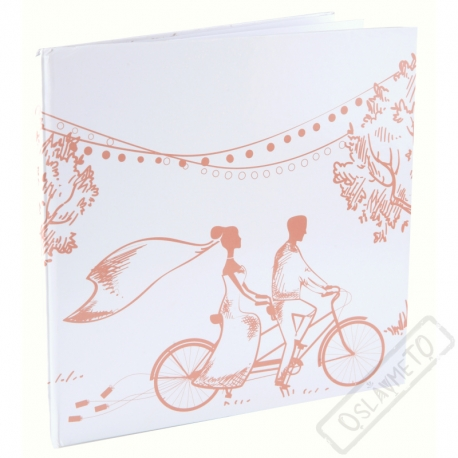 Svatební kniha hostů Romance