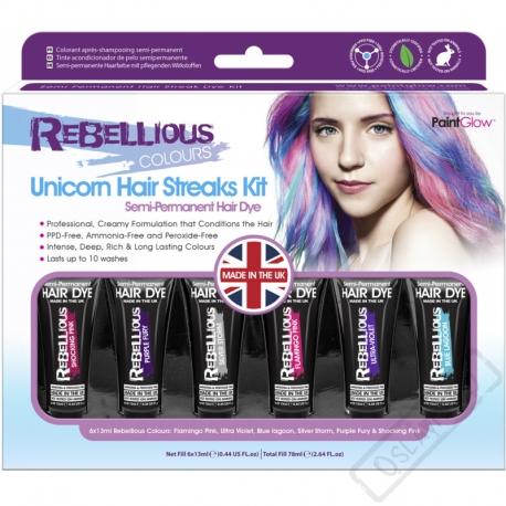 Barvy na vlasy Sada Unicorn