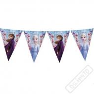 Party girlanda vlajky Ledové království