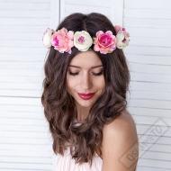 Květinový věneček na hlavu Flower Crown